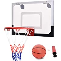 COSTWAY Basketballkorb Basketball-Set Backboard Basketball Basketballboard Basketballbrett Basketballring mit Ring und…