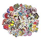 Aufkleber Pack [200-pcs] ANKENGS Graffiti Sticker, Vinyl Stickers, Zufälliger Aufkleber, Vervollkommnen Sie zu den Laptops, Skateboards Fahrrad, Autos, Kinder, Motorrad, Gepäck, iPhoneund Mehr