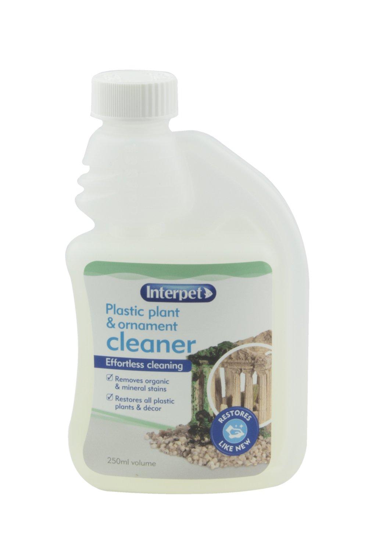 Plastic ornament - Interpet Plastic Aquarium Plant And Ornament Cleaner 250 Ml Amazon Co Uk Pet Supplies