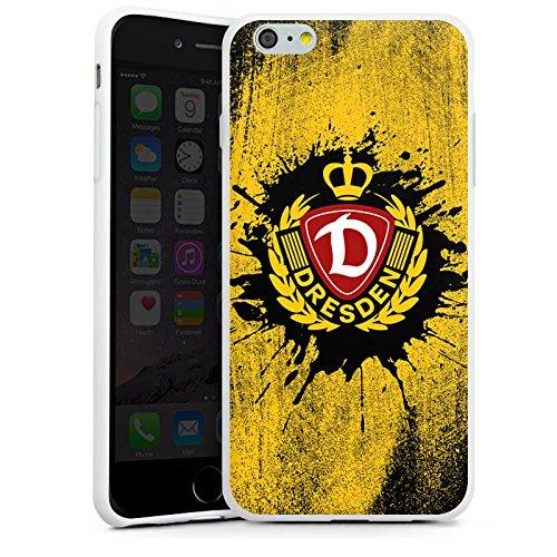 Apple iPhone 6 Plus Hülle Case Handyhülle SG Dynamo Dresden Fanartikel Fußball Silikon Case weiß
