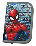 Scooli SPLO0443Ja Stabilo Brand Filled School Pencil Case–Marvel Spiderman