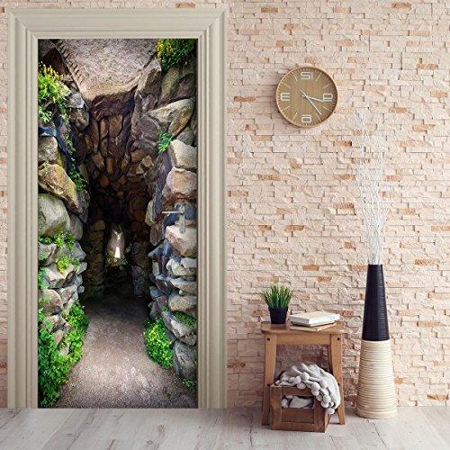 Türtapete selbstklebend TürPoster - DURCHGANG - Fototapete Türfolie Poster Tapete
