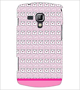 PrintDhaba Letter pattern D-1819 Back Case Cover for SAMSUNG GALAXY S DUOS 2 S7582 (Multi-Coloured)