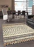 Unamourdetapis - Tapis Berber MOROCCO TRIBAL Tapis de salon Moderne design beige 80 x 150 cm