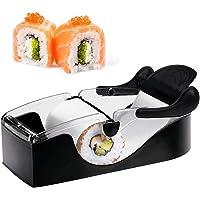Parfait Sushi Roll Machine Sushi Maker rouleau matériel de bricolage Magic Kitchen Gadget Accessoires de cuisine Noir