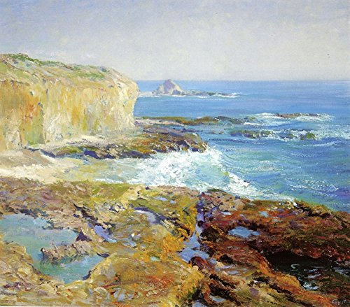 Das Museum Outlet-Laguna Rocks, Ebbe, 1915-16, gespannte Leinwand Galerie verpackt. 29,7x 41,9cm - Laguna-schlafzimmer-möbel