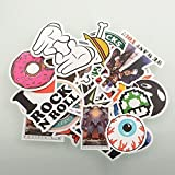 (Pack of 100) Stickers Skateboard Snowbo...