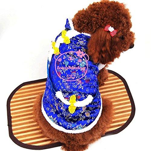 Pet Katze Hund Kleidung Neue Jahr Frühling Kostüm mit Geld Tasche Baumwolle Coat Pullover Kleiner Hund Kleidung XS S M L XL