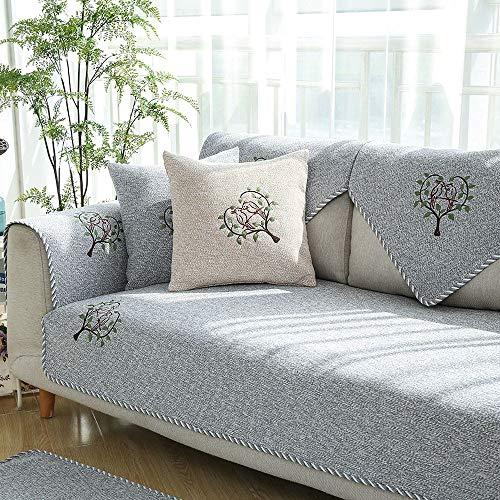HTGL Cubre Sofá Geometria Elegante De ImpresióN Cubre Furniture Funda De Sofá...