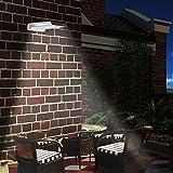 32 LED Projecteur Extérieur Solaire
