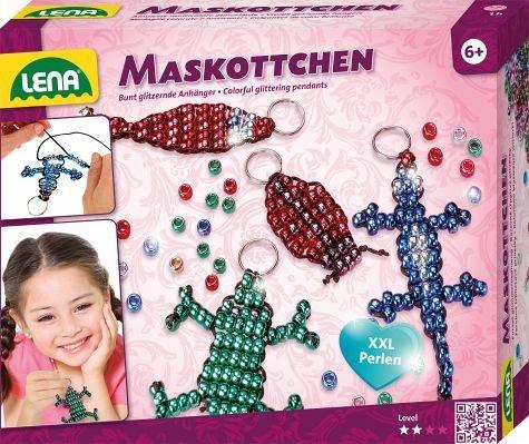 Lena 42688 Bastelset für 4 Maskottchen mit 290 (Kinder Maskottchen Für)