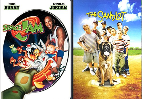 Sandlot Space Jam Family Sports Movies DVD Kids Baseball & Basketball