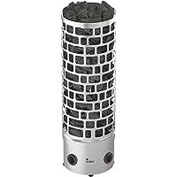 Sauna Poêle Électrique Sawo Aries Round Tower Premium 3HE 7,5 kW avec Unité de Contrôle Intégrée: Thermostat et…
