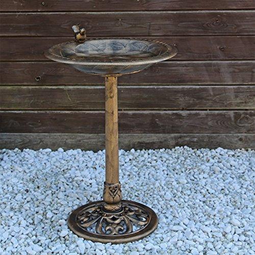 Vogeltränke VGT3 Vogelbad Vogel Tränke Bad mit Vogel auf der Wasserschale - 2