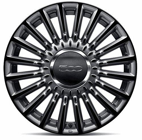 Cerchi in lega bicolor Fiat 500, 16'