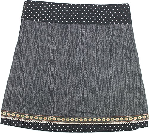 Moshiki Wende-Wickelrock Hot Cookie #12 Tweed M10