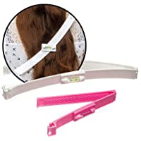 Haarschneide Hilfe Clip,1 Set Haare selber schneiden leicht gemacht,Scherer Styling,Professionelles Haarschneidewerkzeug…