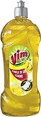Vim Dishwash Gel, Lemon, 750 ml