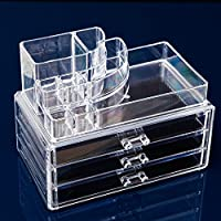 Clear Acrylic Cosmetic Organizer/Makeup Box Case,1303