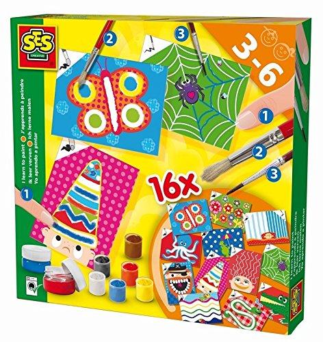 ses-creative-aprendo-a-pintar-kit-de-juego-multicolor-14837