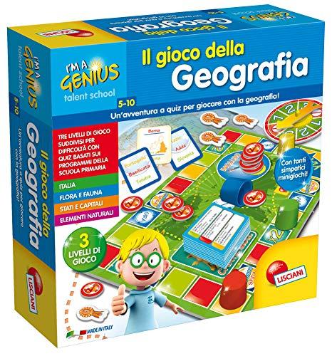 Lisciani Giochi 48908 - Piccolo Genio Talent School Il Gioco della Geografia