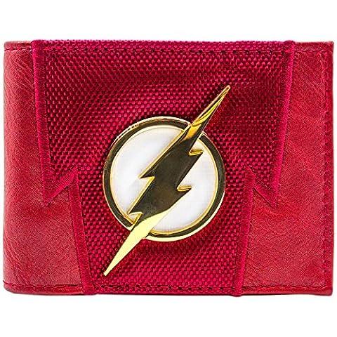 DC Flash Blitz-Badge Suit Up Rot Portemonnaie Geldbörse (Zoom Film Kostüm)