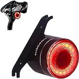 Intelligente Fanale Posteriore per Bicicletta,USB Ricaricabile Della Luce Della Bici, Ipx6 Impermeabile,Luce Della Coda Lumin