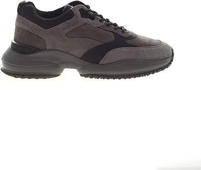 Hogan Sneakers Interaction sui Toni del Grigio HXM5450DH10OOJ831Z Grigio Uomo