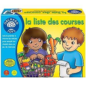 Orchard Toys–Lista de la Compra Juego de Memoria bilingüe (Inglés/Francés), 171