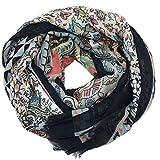 Pañuelo Fulard Bufanda Cuello 100% Viscosa de Mujer Estampado y Diseño Español (P042-7)