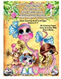 Sherri Baldy My-Besties Tiny & Her Supersaurus Knobby Knees Besties Adult Coloring book for all ages by Sherri Ann Baldy (2016-05-21)