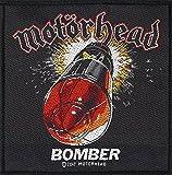 Motörhead Aufnäher BOMBER Patch gewebt 10 x 10 cm