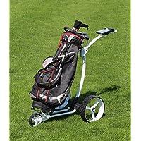 Zerimar KENROD Carrito de Golf Manual Plegable | Carro de Golf 3 Ruedas | Color Blanco