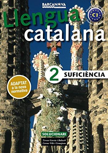 SuficiÈncia 2. solucionari llengua catalana editado por Barcanova