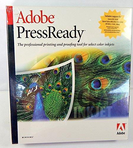 Adobe Press Ready Professionelles Druck- und Korrekturwerkzeug für Farb-Tintenstrahldrucker