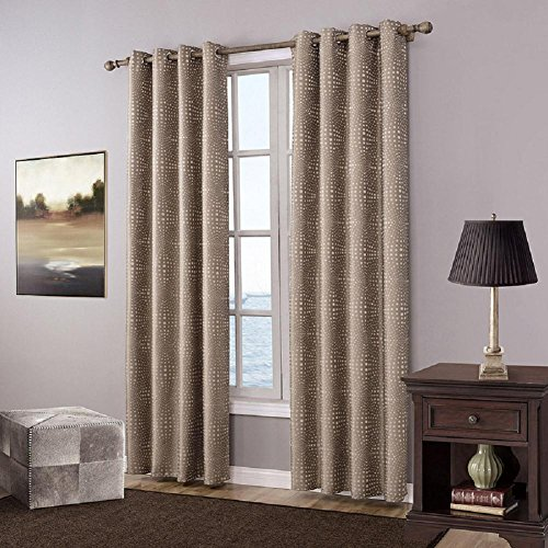 Preisvergleich Produktbild YYH Verdunklungsvorhänge Zimmer Verdunkelung Gardinen Set 2 Platten Polyester Jacquard fertige Vorhänge , 140x220cm
