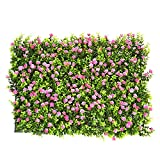 Best Privacy Fences - Artificial Hedge with Flowers Faux Greenery Privacy Screens Review