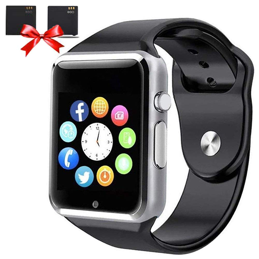 Bluetooth Smart Watches – ANCwear Smart Watch for Android Phones with SIM Card Slot Camera, Fitness Tracker Watch with Sleep Monitor, Pedometer Watch for Women Men Kids Compatible Iphone Android Phone