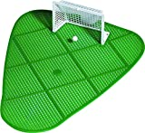 Pissgoal 4er Set Pissoair Fußball für die Männertoilette, Spritzschutz Hygiene