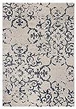 andiamo Vintageteppich Puerto, strapazierfähiger Kurzflor-Teppich, 2 Größen, Größe:120x170cm, Farbe:Creme-Blau