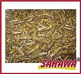 SAHAWA® getrocknete Heuschrecken, Reptilienfutter, Nagerfutter, Igelfutter (1000 ml)