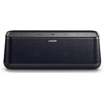 Anker SoundCore PRO+ Speaker Bluetooth 25W con Bassi Superiori e Suono ad Alta Definizione - Speaker Bluetooth Premium Fino a 18 Ore di Riproduzione, Resistente all'Acqua, con Tecnologia BassUp