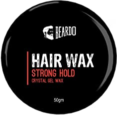 BEARDO HAIR WAX – Strong Hold 50gm
