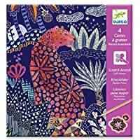 Djeco DJ09728 Small Gifts-Scratch Cards, Multicoloured