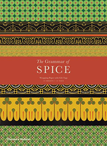 The Grammar of Spice: Gift Wrapping Paper Book par Caz Hildebrand
