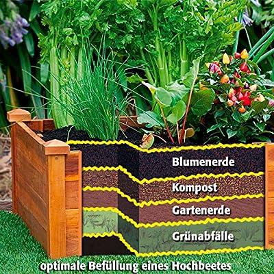 Gärtner Pötschke Hochbeet Klassik sechseckig, stapelbar, Akazie von Gärtner Pötschke auf Du und dein Garten