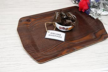 Onlineshoppee Wooden Serving Tray