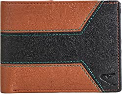 Styler King Men Tan Artificial Leather Wallet��(4 Card Slots)