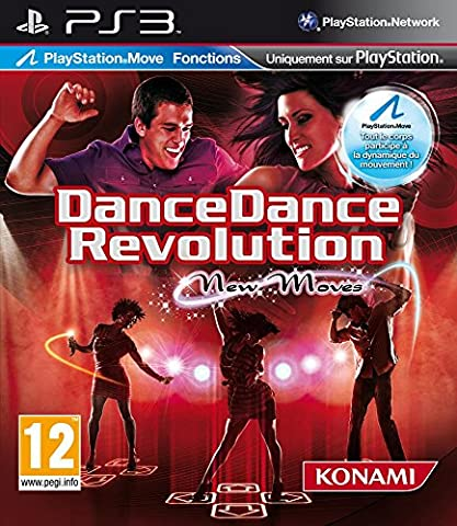 Dance dance revolution : new move + tapis (jeu PS Move)