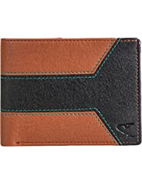 Styler King Men Tan Artificial Leather Wallet(4 Card Slots)